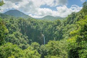 Costa Rica La Fortuna Wasserfall