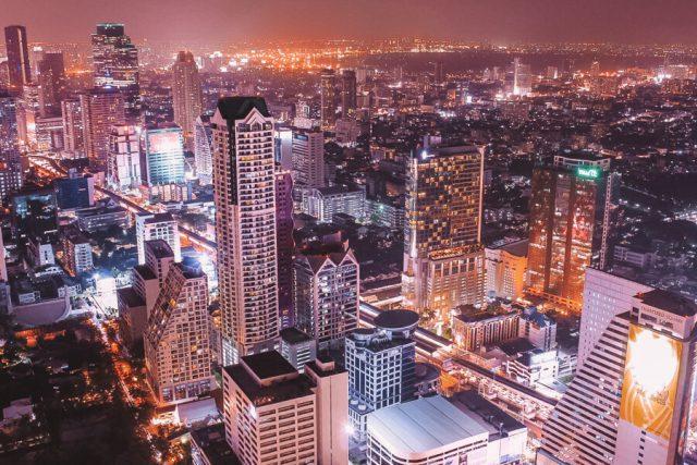 Bangkok Sehenswuerdigkeiten Aussicht Lebua State Tower