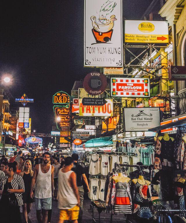 Bangkok Sehenswuerdigkeiten Khao San Road-2