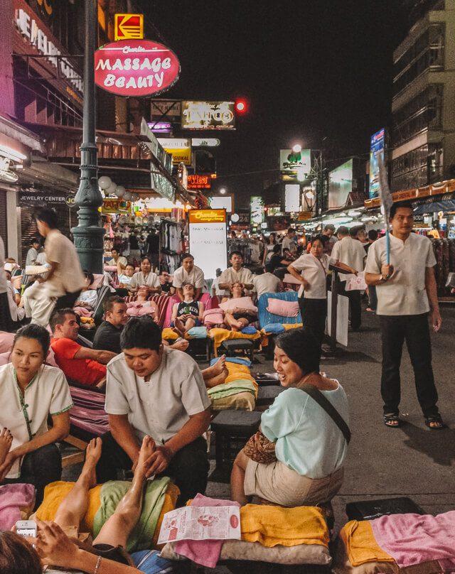 Bangkok Sehenswuerdigkeiten Khao San Road