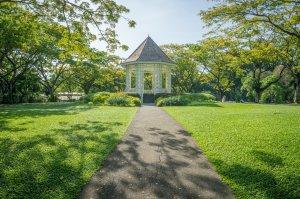 Singapur Sehenswuerdigkeiten Botanischer Garten Wedding Chapel