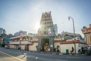 Singapur Sehenswuerdigkeiten Chinatown Sri Mariamman Tempel
