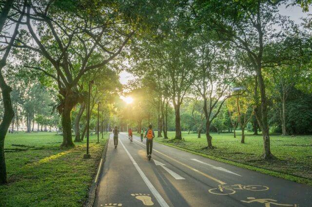 Singapur Sehenswuerdigkeiten East Coast Park