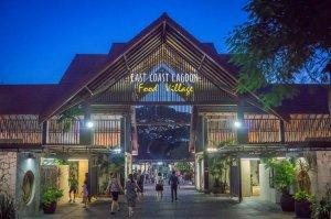 Singapur Sehenswuerdigkeiten East Coast Park Lagoon Food Village Hawker Center