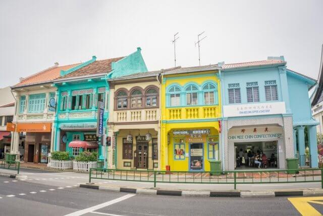 Singapur Sehenswuerdigkeiten Katong Joo Chiat Road