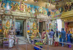 Singapur Sehenswuerdigkeiten Little India Tempel