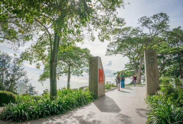 Singapur Sehenswuerdigkeiten Mount Faber Point