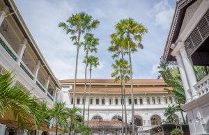 Singapur Sehenswuerdigkeiten Raffles Hotel