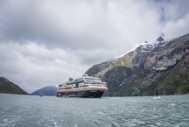 Hurtigruten Antarktis Chile Garibaldi Fjord