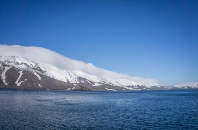 Hurtigruten Antarktis MS Midnatsol Deception Island
