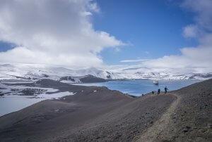 Hurtigruten Antarktis MS Midnatsol Deception Island