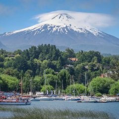Villarrica is one of the most active volcanos of Chilehellip