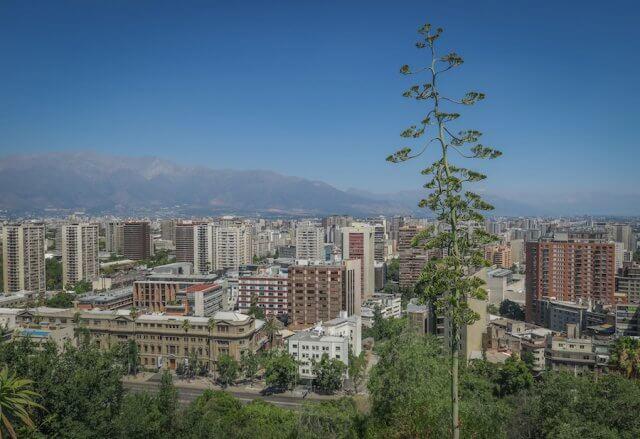 Santiago de Chile Aussicht