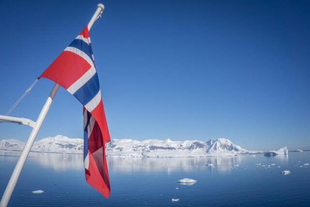 Antarktis Hurtigruten Eisberge