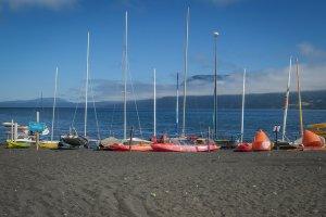 Araukania Chile Pucon Strand