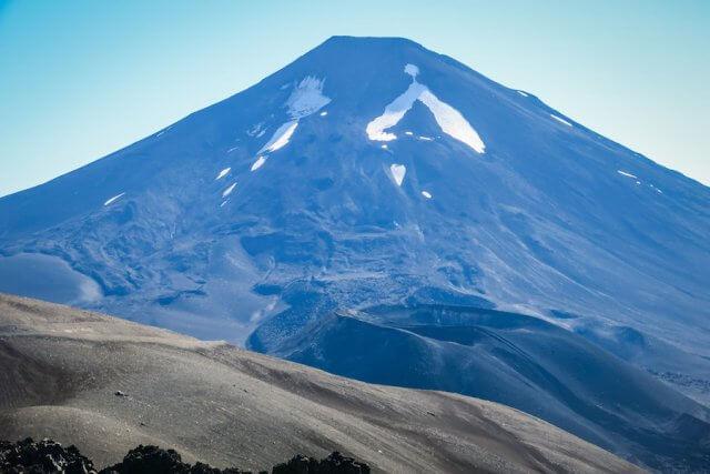 Araukania Chile Lonquimay Vulkan