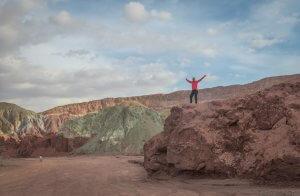 Atacamawüste Valle Arcoiris
