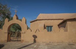 Atacamawüste San Pedro Kirche