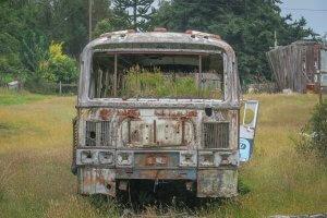 Chiloe Chile Dalcahue Auto
