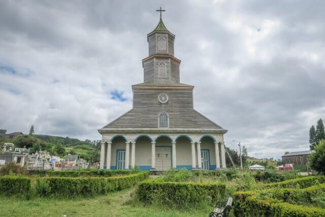 Chiloe Chile Kirche Castro