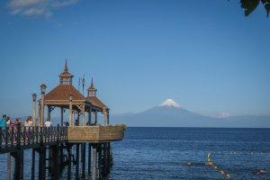 Chiloe Chile Frutillar Promenade