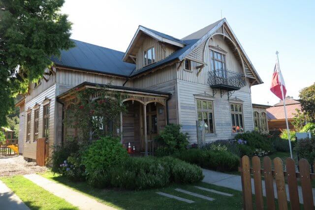 Chiloe Chile Frutillar Haus