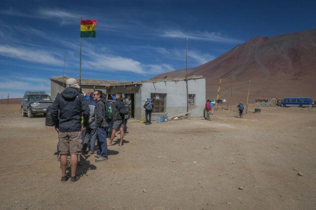 Salar de Uyuni Tour bolivianische Grenze