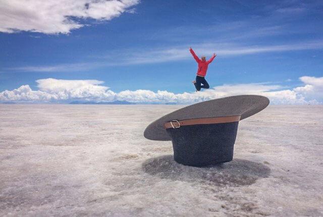 Salar de Uyuni Tour trocken Bolivien Reiseziele August Urlaub