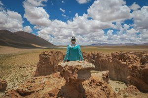 Salar de Uyuni Tour Lost City