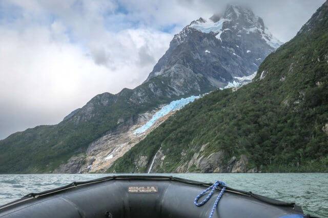 Torres del Paine Chile Balmacero Gletscher