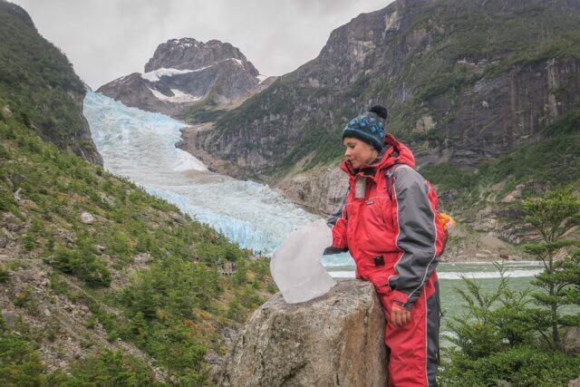 Torres del Paine Chile Serrano Gletscher