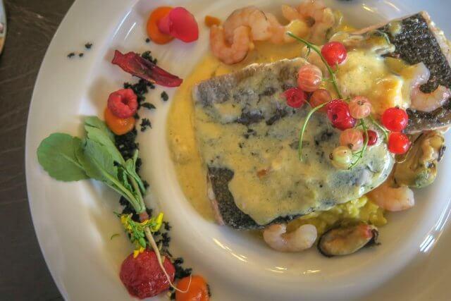 Torres del Paine Chile Hotel Las Torres Dinner