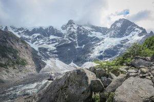 Torres del Paine Trekking French Valley Gletscher
