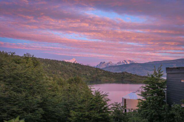 Torres del Paine Trekking Patagonia Camp Sonnenaufgang