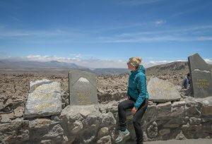 Arequipa Colca Canyon Aussichtspunkt Vulkane