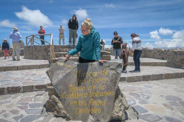 Arequipa Colca Canyon Tour höchster Punkt
