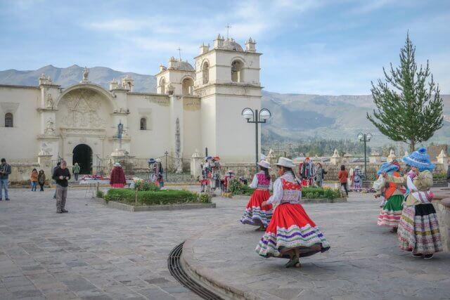Arequipa Colca Canyon Yanque Peru Sehenswürdigkeiten
