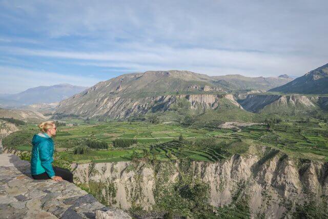 Arequipa Colca Canyon Aussichtspunkt Peru Sehenswürdigkeiten
