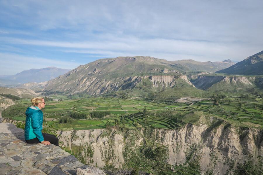 Arequipa Colca Canyon Aussichtspunkt