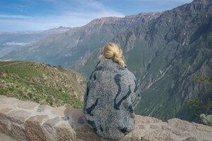 Arequipa Colca Canyon Kondoren Aussichtspunkt