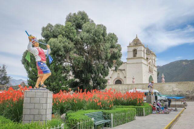 Arequipa Colca Canyon Maca Kirche