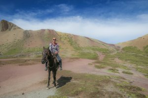 Rainbow Mountains Peru Cusco Reiten