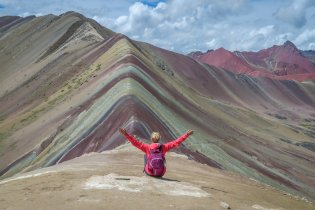 Rainbow Mountains Peru Cusco Tour Flashpackerconnect