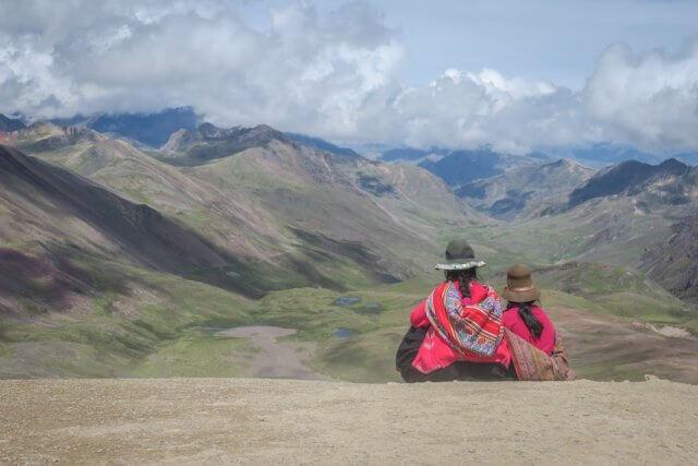 Cusco_Rainbow Mountain Einheimische