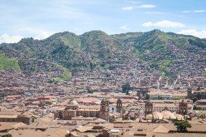 Rainbow Mountains Peru Cusco San Blas Aussichtspunkt