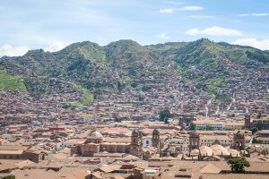 Cusco_Rainbow Mountain Cusco San Blas Aussichtspunkt