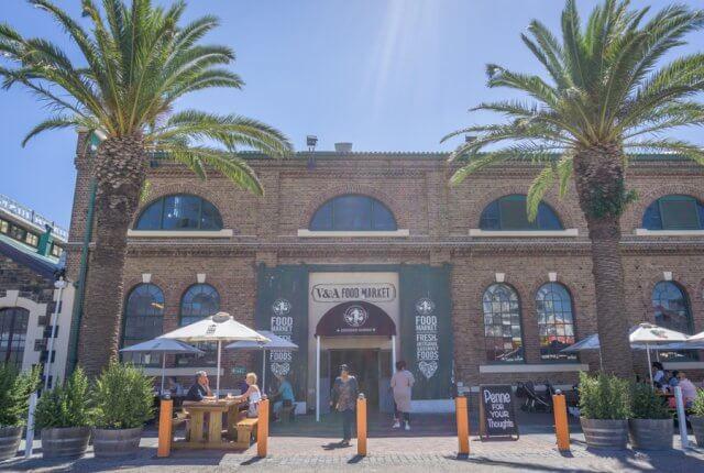 Kapstadt Urlaub Suedafrika V & A Waterfront Foodmarket