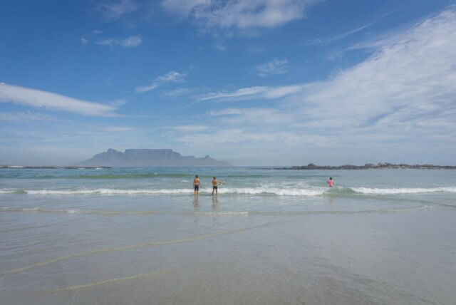 Kapstadt Urlaub Suedafrika Bloubergstrand