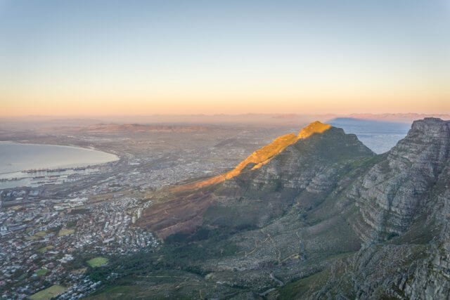 Kapstadt Urlaub Suedafrika Tafelberg