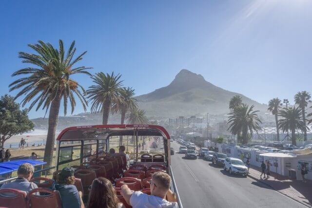 Kapstadt Urlaub Suedafrika Hop on Hop off Bus